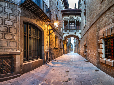 Sightseeing tour of Barcelona by car