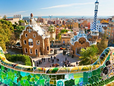 Masterpieces of Great Gaudi - Magnificent Park Guell